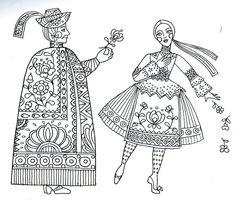 17pillanat: magyar motívumok-játék Hungarian Embroidery, Folk Embroidery, Embroidery Designs, I Love School, Vintage Jewelry Crafts, Blog Planner, Silk Painting, Textile Art, Folk Art