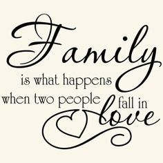 ♥ every married couple starts their family on their wedding day, children are born into a family not simply a marriage!