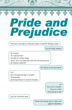 """If the characters of Pride and Prejudice could text - this is seriously funny, click for more """"screenshots"""""""