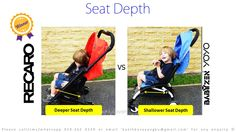 Seat Depth. Which is Safer? Shorter Seat Depth or Deeper Seat Depth? A or B?