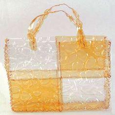Bolsa de PET - Plástico - Arte Reciclada