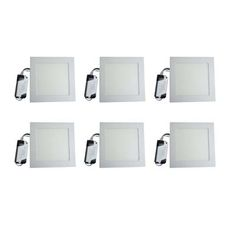 Buy VRCT Classic 6W LED Ceiling Panel Lights Set of 6 Square B Series by undefined, on Paytm, Price: Rs.1598?utm_medium=pintrest