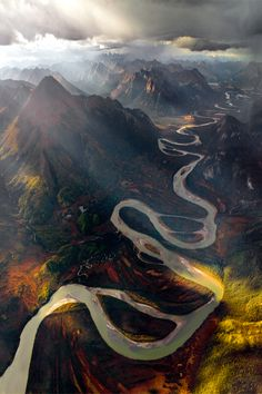Alatna River Valley, Gates of the Arctic (by Michael Brown) #breathtaking #landscapes #travel
