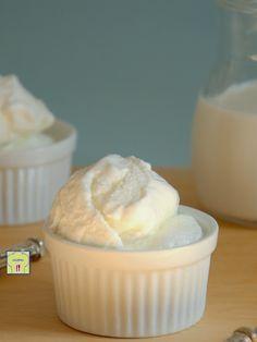 gelato fiordilatte con latte fresco