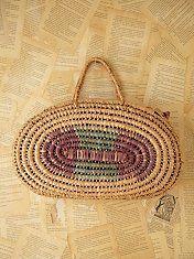 Vintage Straw Bag -$128.00