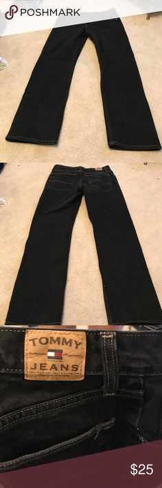 Gently worn Black Tommy jeans Gently worn Black Tommy jeans Tommy Hilfiger Jeans Straight