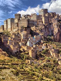 middle east destinations Saddam Al-Harazi Alhajarh City - Haraz - Yemen by Saddam Al-Harazi Middle East Travel Destinations Cool Places To Visit, Places To Travel, Travel Destinations, Travel To Saudi Arabia, Places Around The World, Around The Worlds, Middle East Destinations, Israel Travel, Belle Villa
