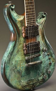 Scott Walker Guitar. with Patina? wow