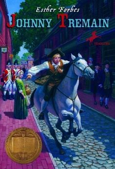 Historical fiction. The life of an apprentice in the days leading up to the Boston Tea Party.
