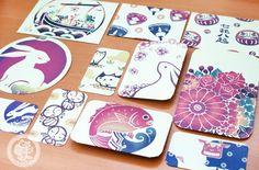 Un set de 10 enveloppes trèèèès belles et #kawaii avec le style traditionnel #japonais !! (=*o*=)<3 - boutique kawaii en ligne chezfee.com
