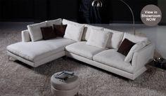 Italian style designer sofa Foam