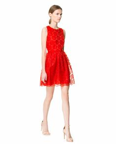 FANTASY FABRIC DRESS - Dresses - Woman - New collection | ZARA Philippines