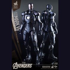 Tony Stark usually enjoys the spotlight, grabbing attention whenever he can, but sometimes he prefers a low-key approach, which is where the hi-tech suit of the Iron Man Mark VII (Stealth Mode Version) Sixth-Scale Figure comes in.  No, this isn't another suit from the House Party scene of Iron Man