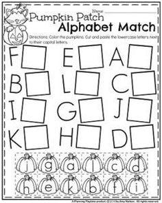 123 Best Alphabet Worksheets images | Alphabet worksheets, Early ...