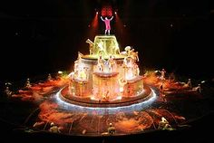 Le Reve, The Wynn - an absolute must-see when in Vegas. Fabulous!