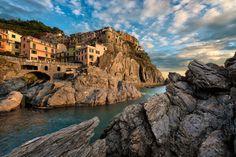 Eternal Manarola, - Cinque Terre, Italy. #Travel-ParadiseDivineItaly