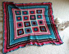 Carly's Crocheted Blanket! by becksorange, via Flickr