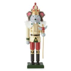 Mouse Nutcracker Figurine  found at @JCPenney