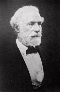 Among the last living photos of Robert E. Lee.