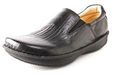 "Alegria Men's ""Oz"" Black Wave Leather | Alegria Shoe Shop"