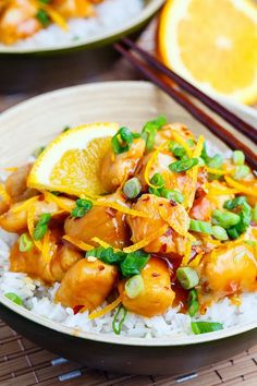 Orange Chicken. Quick, light, easy, and better than Chinese. A new recipe from Closet Cooking.