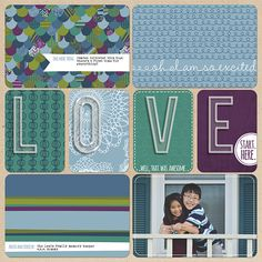 Layout by Melissa. Supplies: Project Life Rain Edition by Becky Higgins' Project Life; Plastic alpha (Sahlin Studio); Font: The Branch.