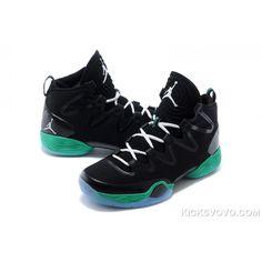 huge selection of 1dc98 a75d3 Air Jordan 28 Black Green at kicksvovo.com Jordans For Men, Air Jordans,