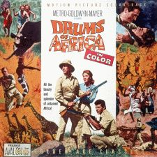 Movie poster from the 1963 film, Drums of Africa