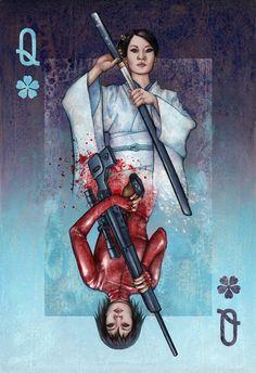 """Alice Meichi Li """"Queen of the Tokyo Underground"""" Print"""