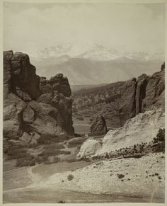 Pike's Peak From the Garden of the Gods by George Eastman House, via Flickr