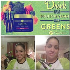 Up since 6am and still running thanks to my greens.  An event, a wrap party and now with family and still talking about our amazing products... love it #greens #itworks #energy #boostmetabolism #8servingsoffruits&veggies #alkalize #balance