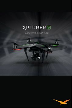 Xplorers make it easy to get into the fun of flying a drone and shooting exciting video and still photos. For current and would-be drone pilots, the Xplorer is an easy-to-master fun machine that comes ready to fly.