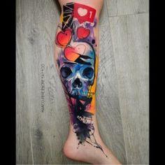 Tattoo Artists, Cool Tattoos, Watercolor Tattoo, Crystals, Coolest Tattoo, Crystal, Temp Tattoo, Nice Tattoos, Crystals Minerals