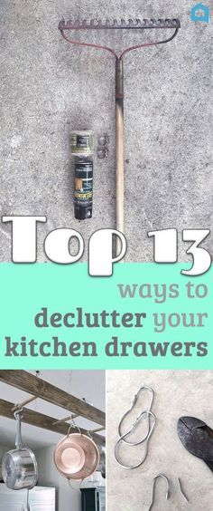 13 Storage Ideas That Will Instantly Declutter Your Kitchen Drawers