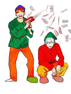 Jhope and Suga BTS