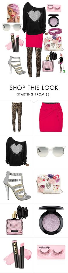 """Tokidoki Barbie #1"" by jasmindayna on Polyvore featuring Roberto Cavalli, Maje, Ray-Ban, Celeste, Alexander McQueen, Victoria's Secret, MAC Cosmetics, L.A. Girl and Forever 21"