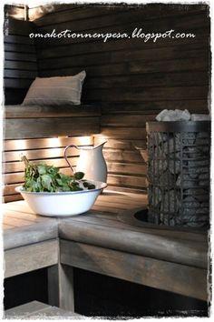 Basement Sauna, Sauna Room, Outdoor Sauna, Sauna Design, Finnish Sauna, Spa Rooms, Best Cleaning Products, Bathroom Spa, Rustic Elegance