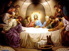 Похожее изображение Jesus Last Supper, Jesus Our Savior, Chi Rho, Biblical Art, The Good Shepherd, Artwork Images, Jesus Pictures, Guardian Angels, Religious Art