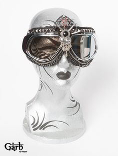 Thuban- Couture Tribal Goggles & Case