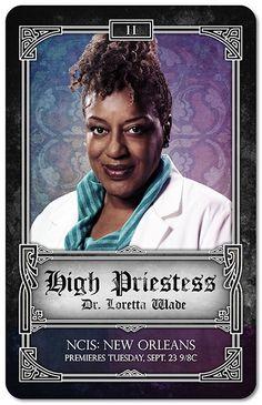 NCIS New Orleans Tarot Cards - High Priestess