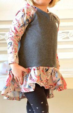 Damen Umstandsmode 3//4-Arm Shirt Wickeltop Faux-Wrap Wickeloptik High-Low Top