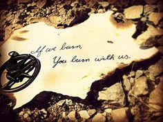 """If we burn, you burn with us""#HungerGamesExplorer"