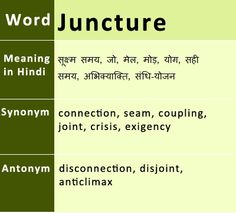 Juncture- Meaning in Hindi  sc 1 st  Pinterest & Dupe : Synonyms Antonyms Hindi Meaning | English Vocabulary ...