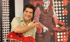 Daniel ganha guitarra de Lulu Santos