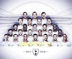 Spurs squad 17/18