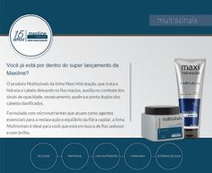 Amostra Grátis do Multissinais da linha Maxi Hidratação, da Maxiline!