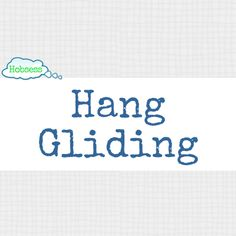 Interested in hang gliding. Watch this video from sciencetoymaker.org and learn what hang gliders experience and see if this is  something that you want to do. This might be your new hobby.