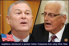 US - New Legislation Introduced to Control Indian Companies