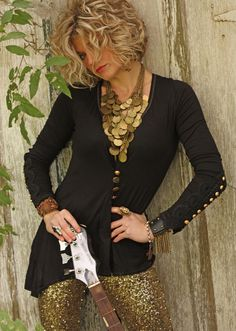 The Delta embroidered tunic