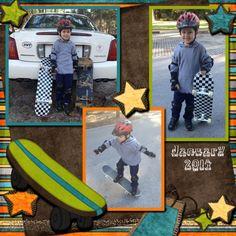 Jagger Skateboarding